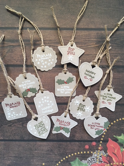 Christmas In July Gift Tags.Christmas In July 2018 Day 1 The Country Touch
